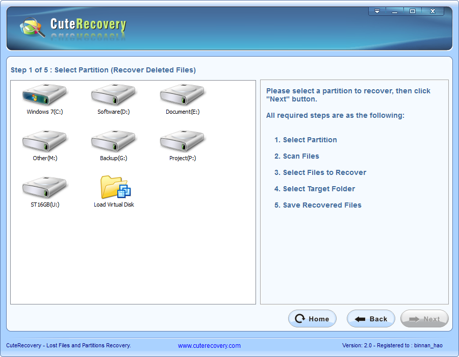 deleted file recovery all steps